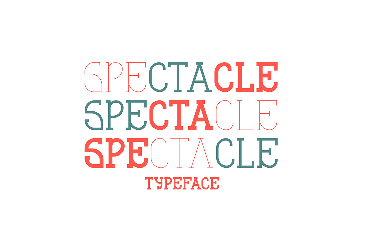 Free Spectacle Slab Serif Font Family