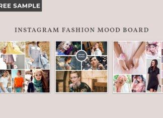3 Free Instagram Fashion Mood Board