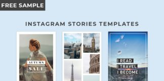3 Free Instagram Stories Templates