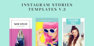 Free Instagram Stories Templates V2