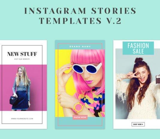Free Instagram Stories Templates V2