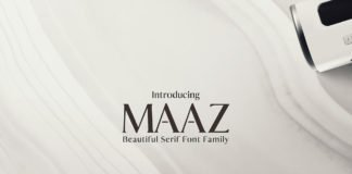 Maaz Serif 6 Fonts Family Pack