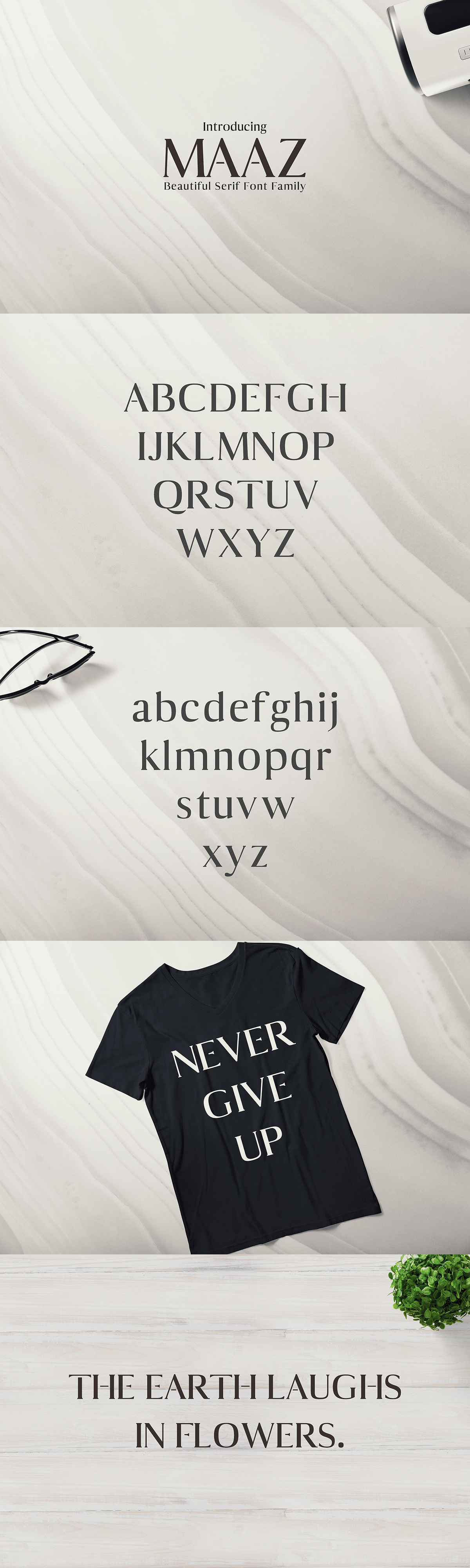 Maaz Serif 6 Fonts Family Pack