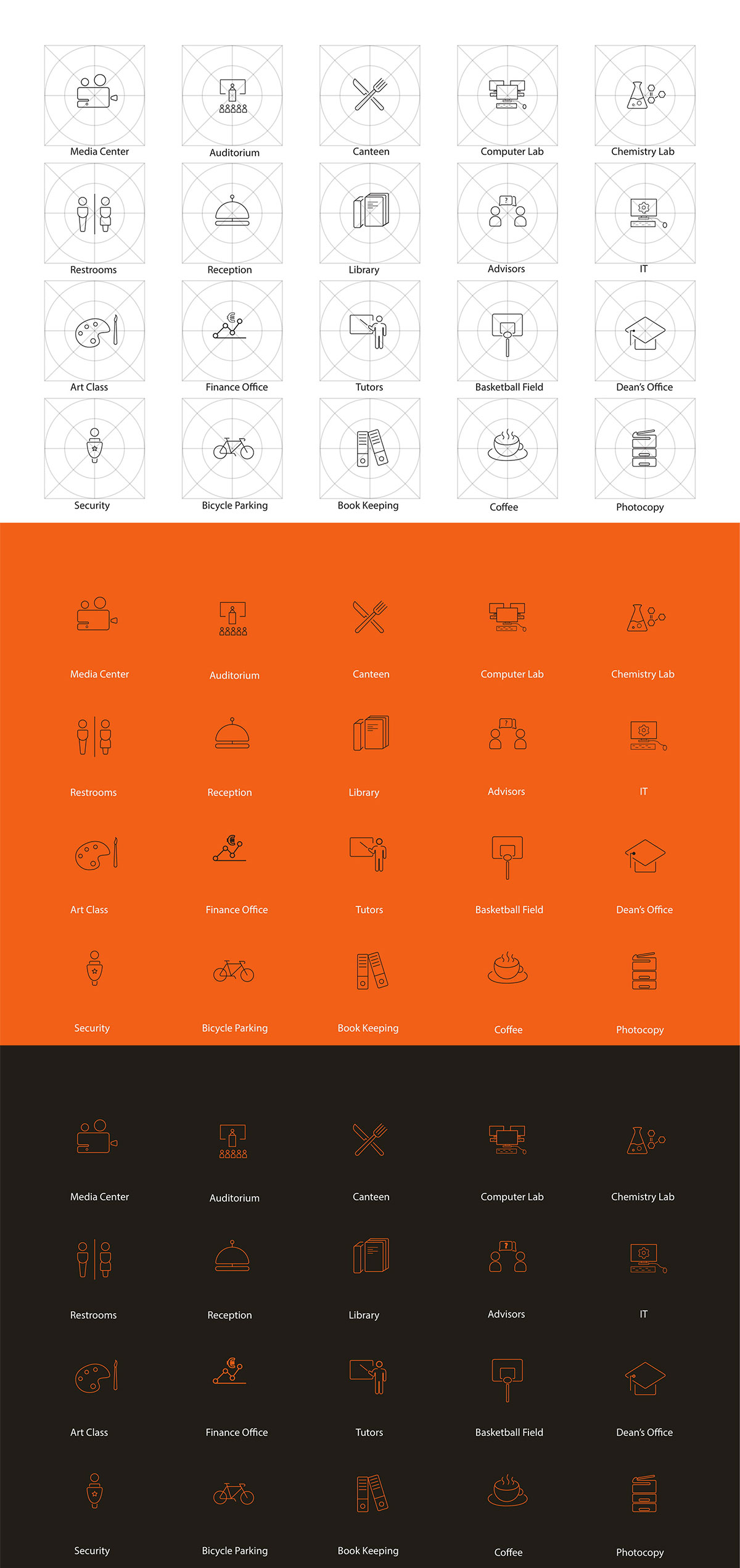 20 Free Way Finding Icons