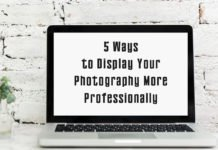 5 Ways to Display Your Photography More Professionally