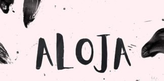Free Aloja Handwriting Font
