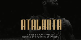 Free Atalanta Display Font
