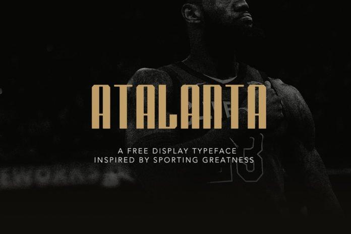Free Atalanta Display Font
