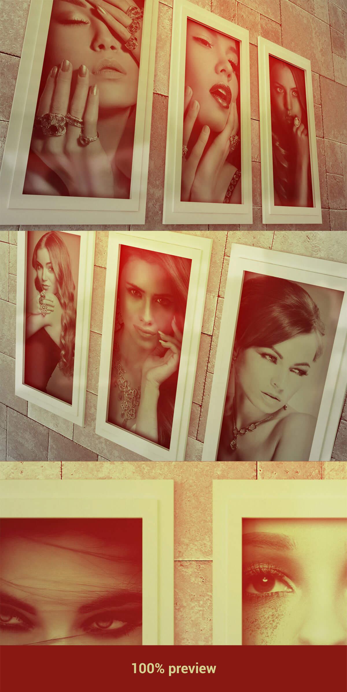 Free Photo Frame Mockups