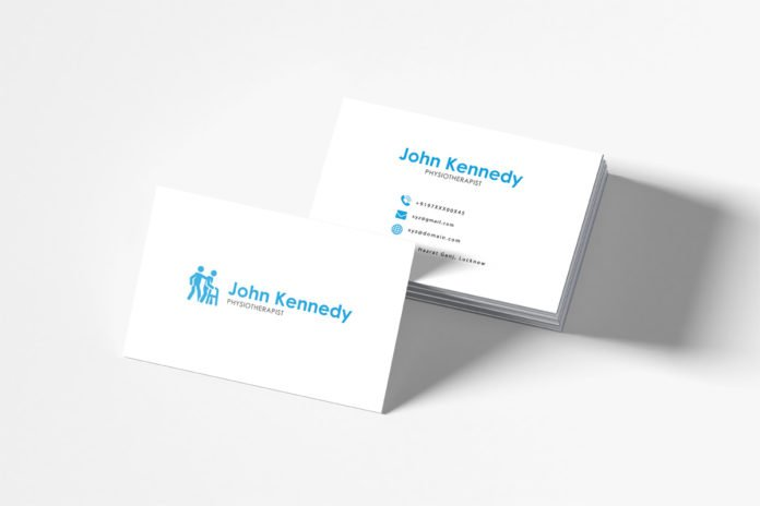 Free Physiotherapy Business Card Template