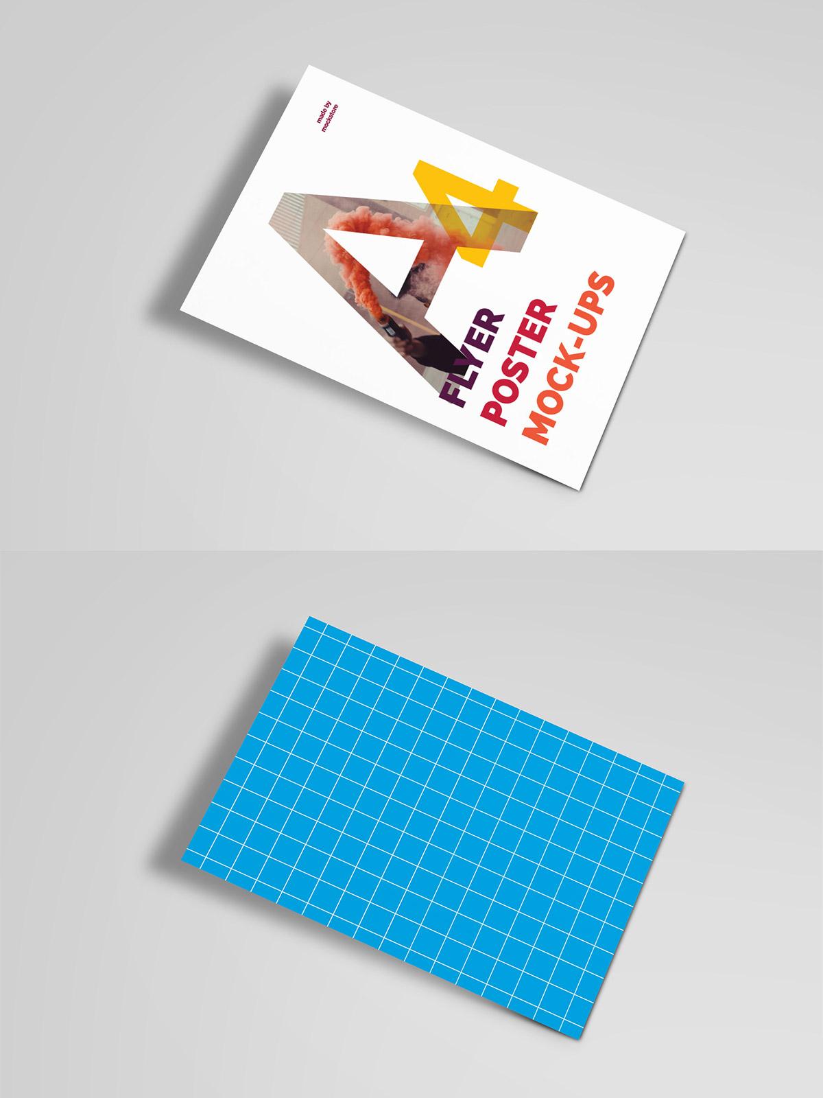 Free Poster Flyer Mockups
