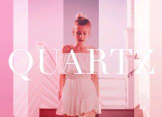 Free Quartz Display Font