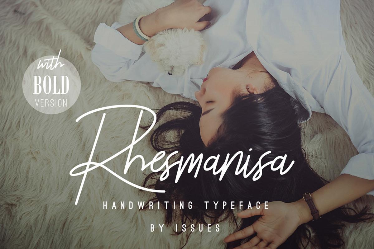 Free Rhesmanisa Signature Font Family