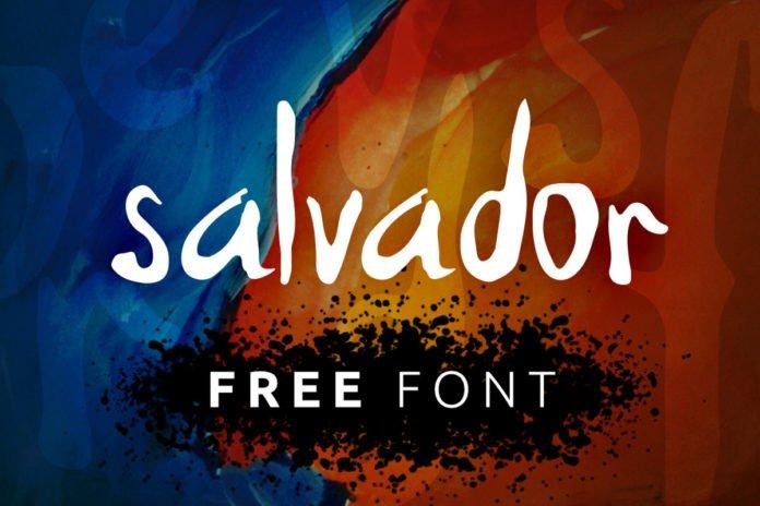 Free Salvador Handmade Font