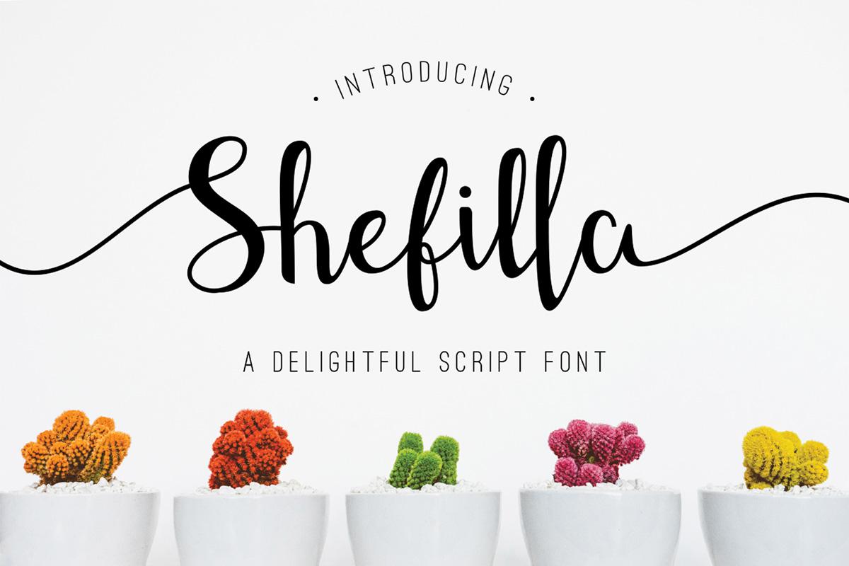 Free Shefilla Script Font