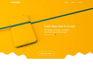 Free Vcreative Landing Page