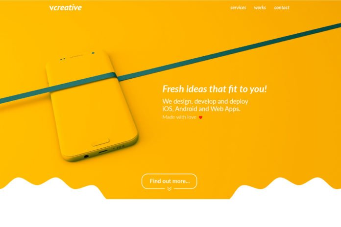 Free Vcreative Landing Page