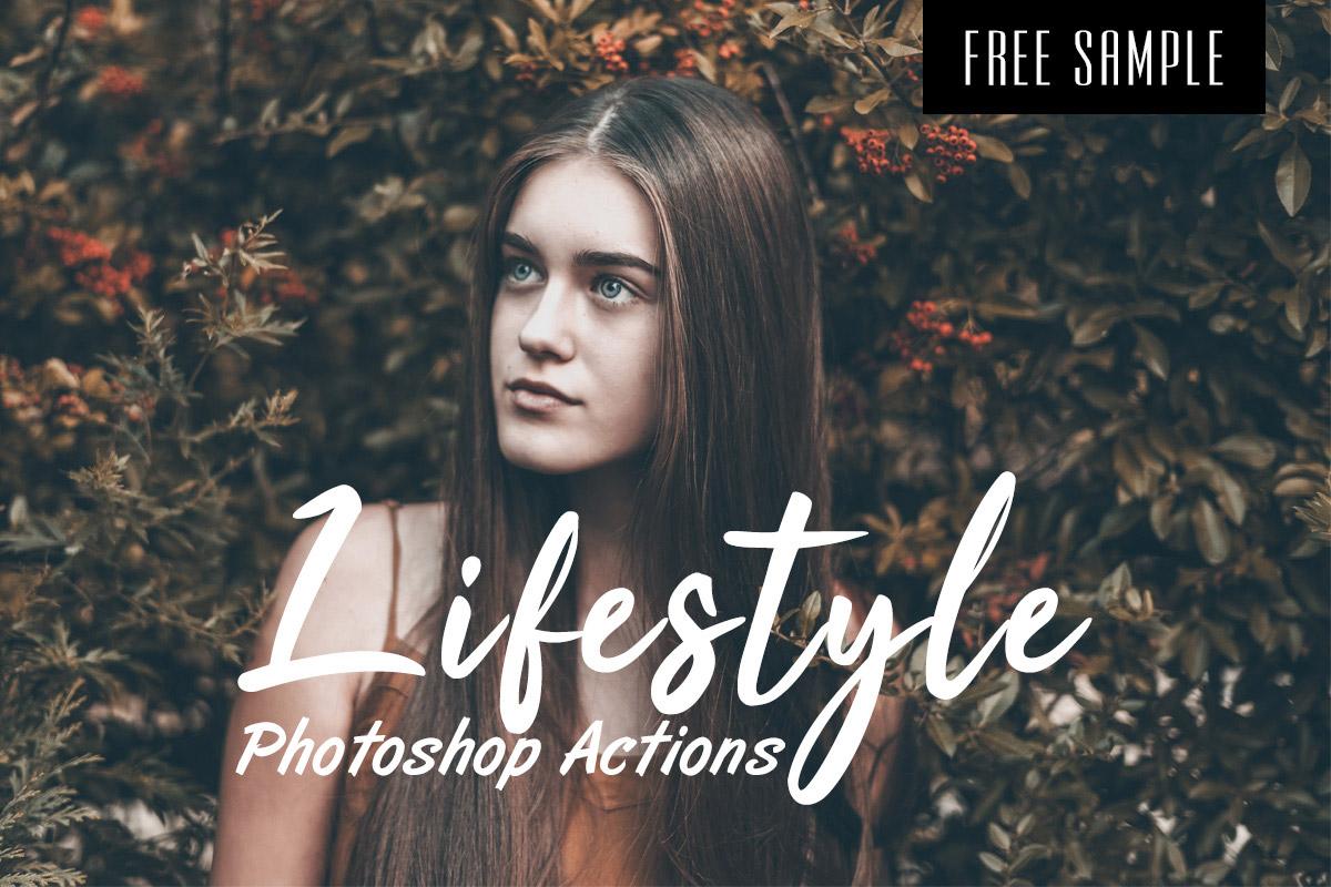 Free Lifestyle Photoshop Actions
