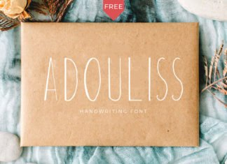 Free Adouliss Font
