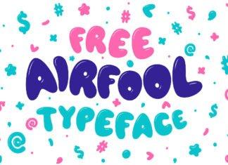 Free Airfool Display Font