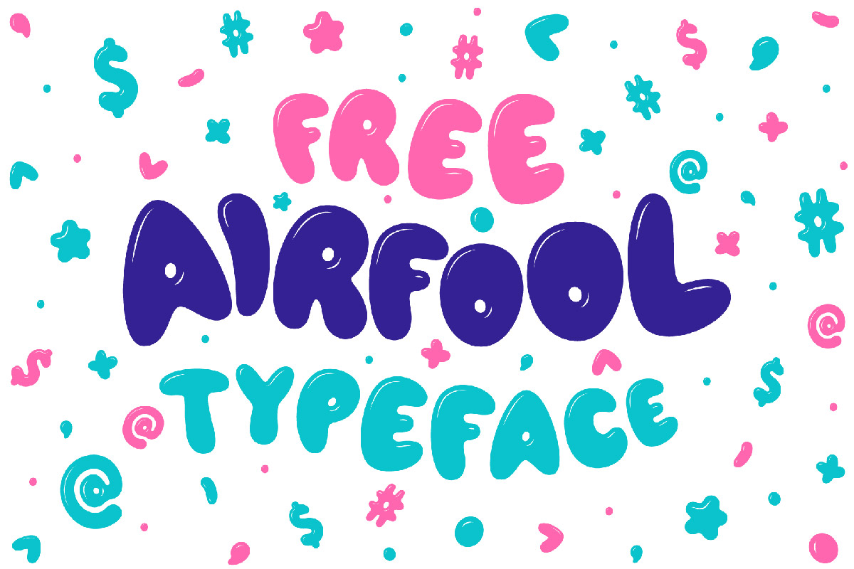 Free Airfool Display Font