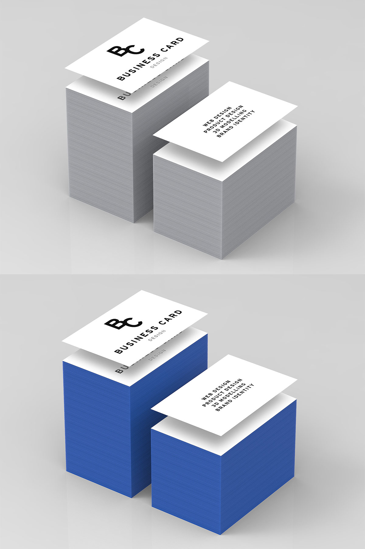 Free Business Card High Quality Mockup