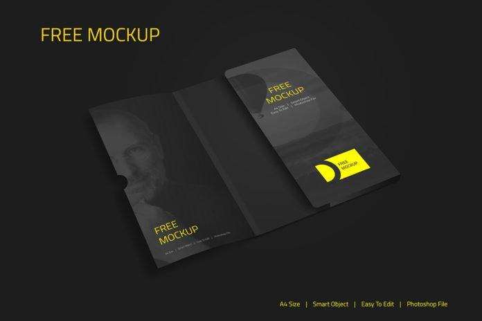 Free Corporate Folder Mockup