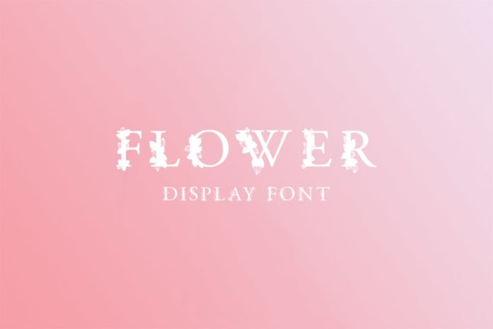 Free Flower Display Font Family Pack