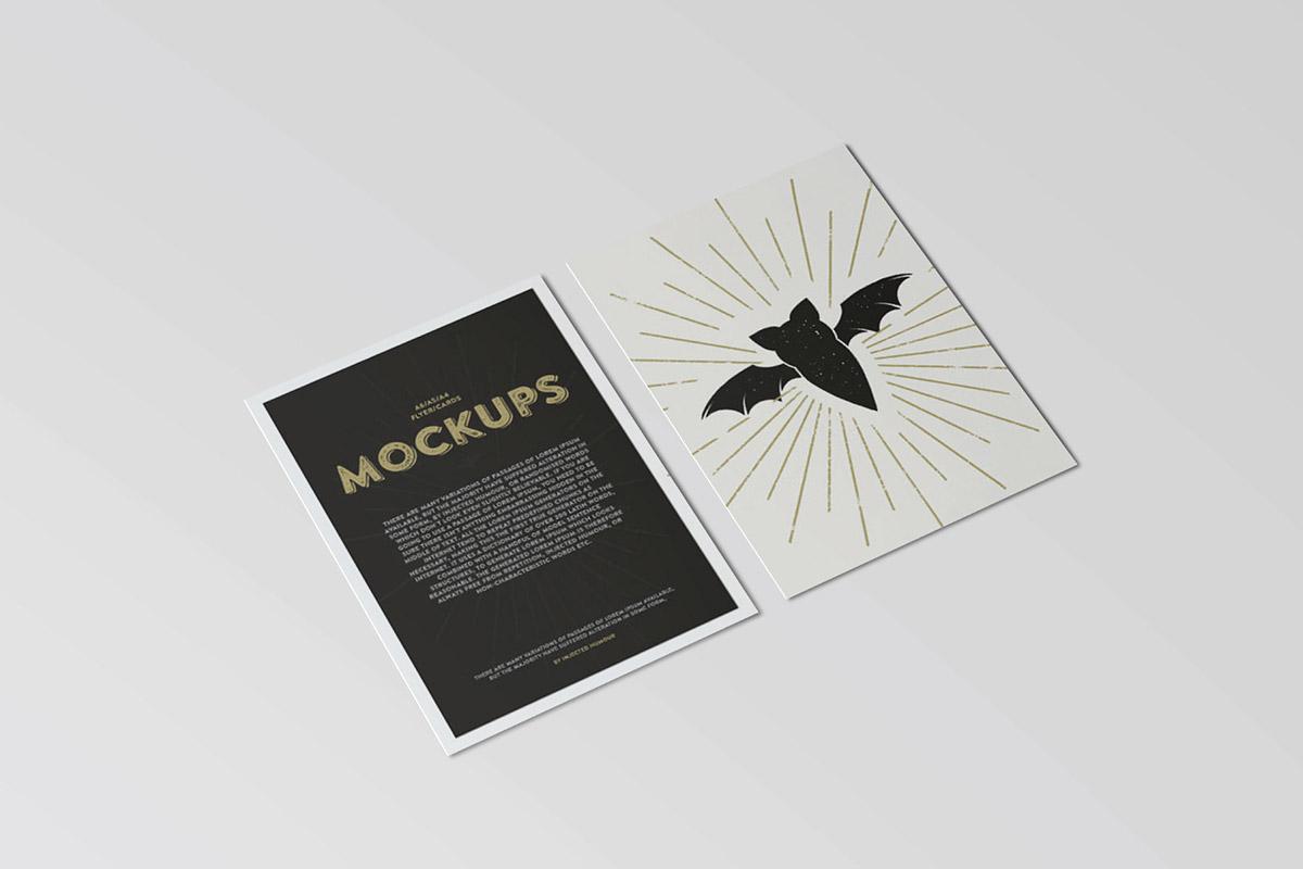 Free Postcard Flyer Mockup