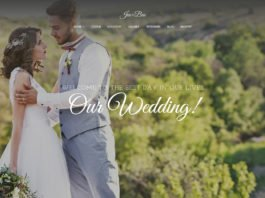 Free Jen Ben Wedding Planner Wordpress Theme