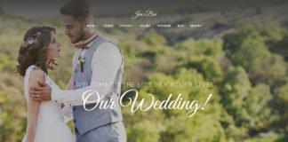 Free Jen Ben Wedding Planner Wordpress Theme