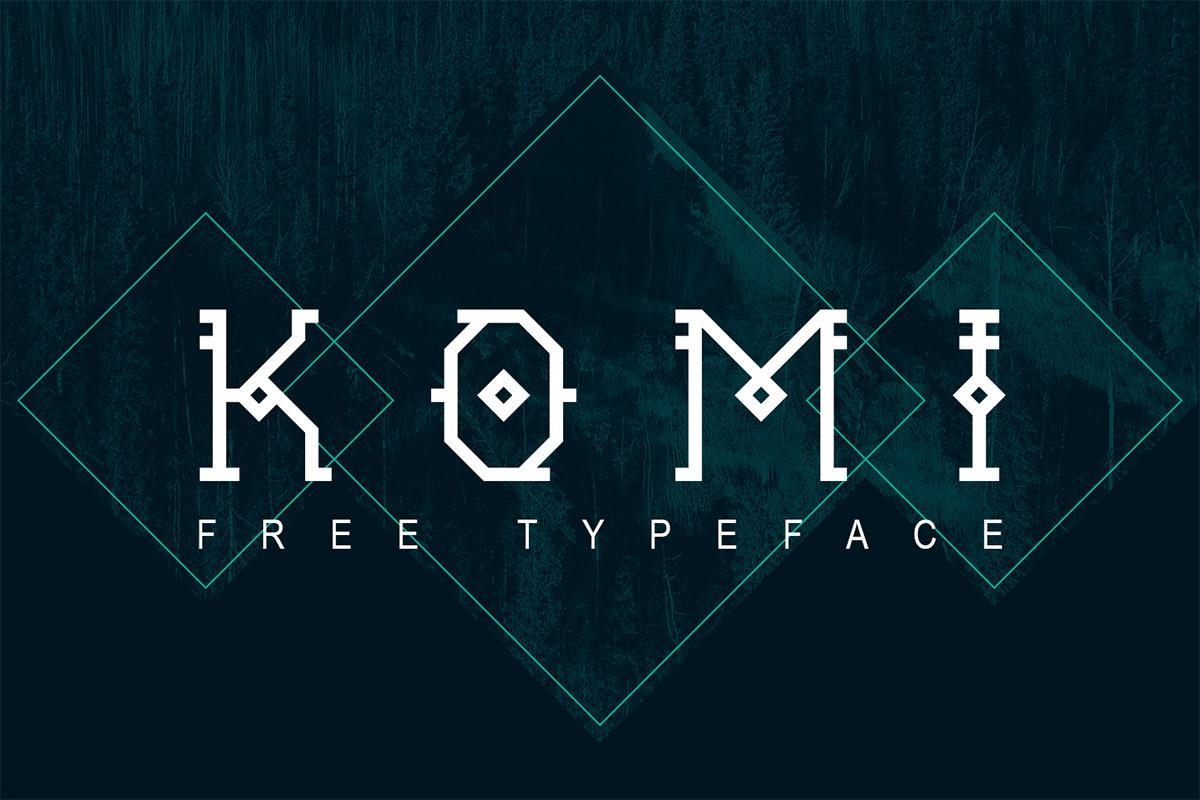 Free Komi Decorative Font