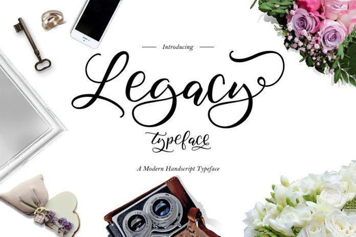Free Legacy Script Font