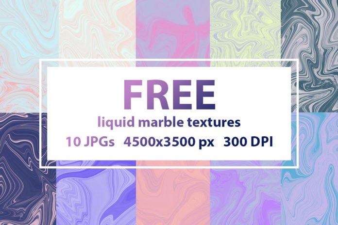 Free Liquid Marble Textures