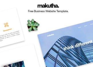 Free Makutha Business Web Template
