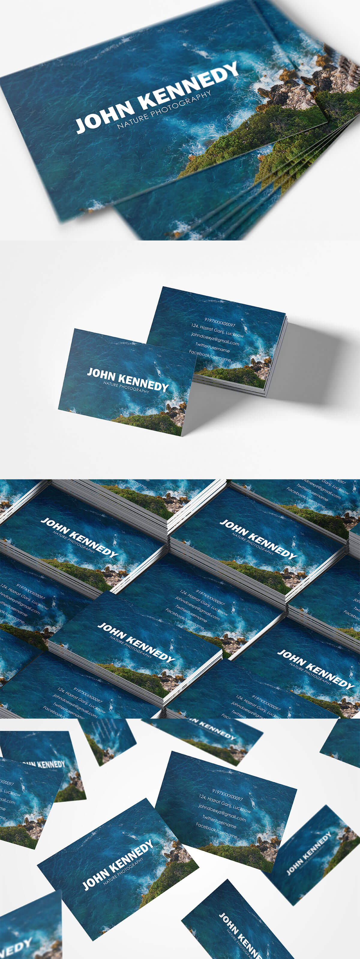 Free Nature Business Card Ver. 2