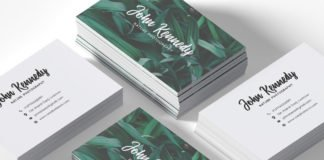 Free Nature Photography Business Card