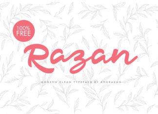 Free Razan Script Font Family