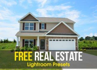 Free Real Estate Lightroom Presets