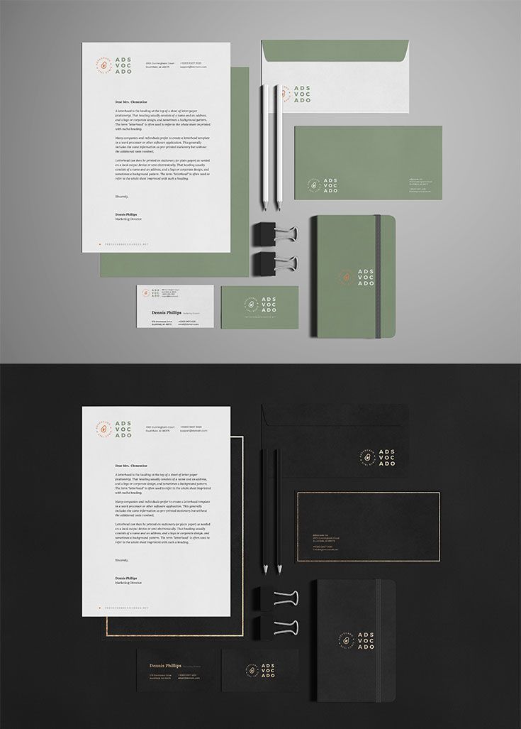 Free #Stationery #Branding #Mockup is a high quality essential mockup for designers to present their branding ideas.Available in PSD format with smart object feature, so you can easily replace the current design with your own in a few clicks.