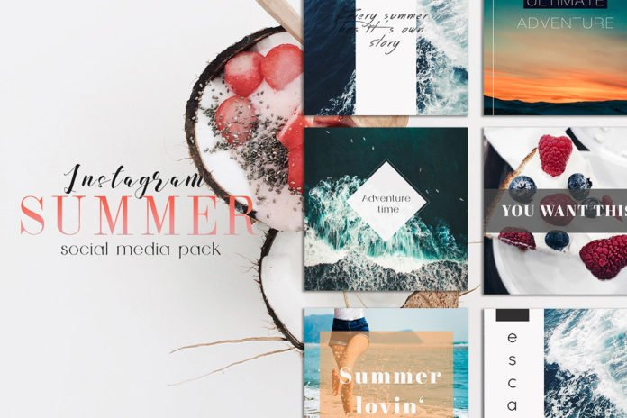 Free Sweet Summer Instagram Social Media Pack