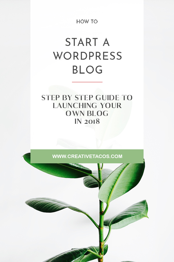 """""""Should you start a blog?"""" If you have something you're truly passionate about and you know there's an audience for it, then the answer is """"yes!"""" #blog #blogging #wordpress"""