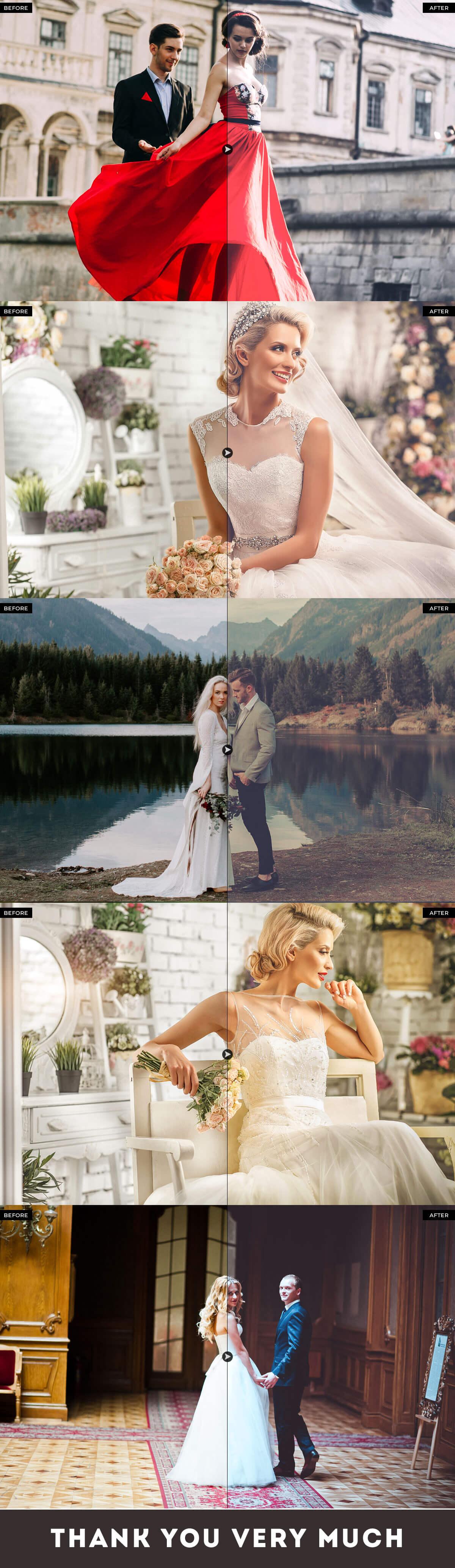 Free Royal Wedding Pro Photoshop Actions - Creativetacos