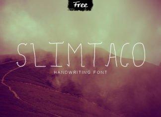 Free Slimtaco Handwritten Font
