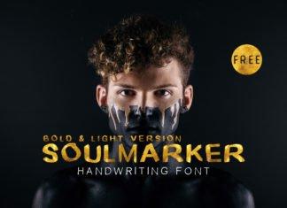 Free Soulmarker Handwriting Font