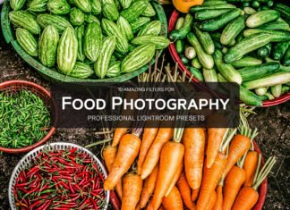 10 Free Food Photography Lightroom Presets