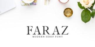 Free Faraz Modern Serif Font