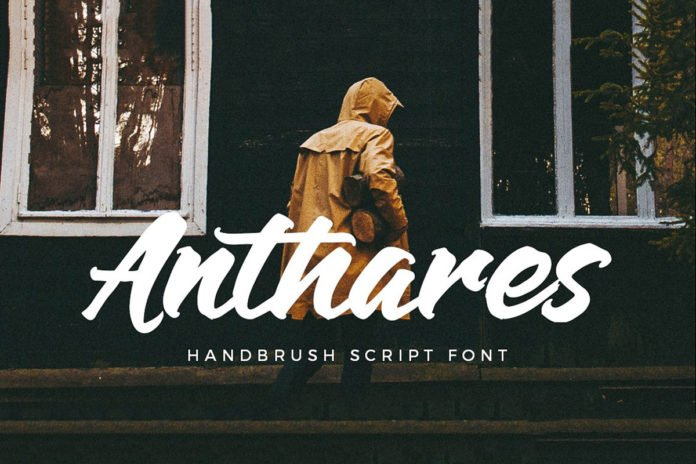 Free Anthares Script Font
