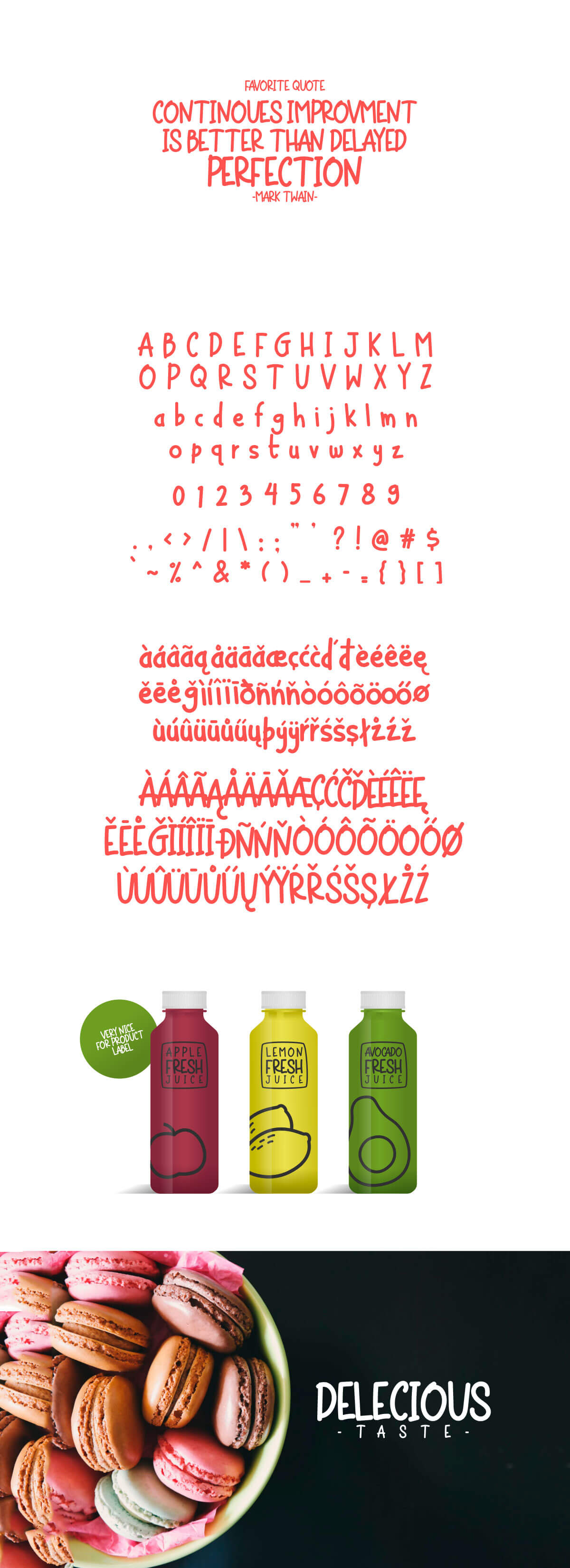 Free Chicken Noodle Display Font