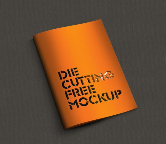 Free Die Cutting Brochure Cover